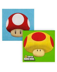 Servilletas Super Mario Bros