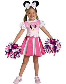 Disfraz de Minnie Mouse Clubhouse Cheerleader para niña
