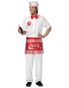 Disfraz de camarero Coca-Cola
