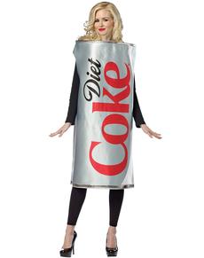 Disfraz de Lata Coca-Cola Light