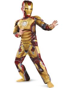 Disfraz de Iron Man 3 musculoso para niño