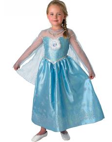 Disfraz de Elsa Deluxe Frozen para niña