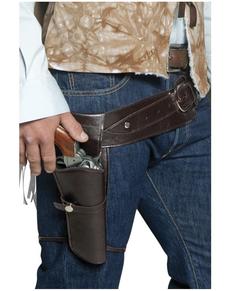 Cinturón y funda de pistola de pistolero errante