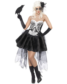 Disfraz de esqueleto Von Trap