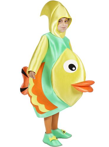 Disfraz de pez tropical infantil