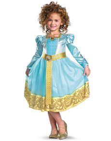Disfraz de Mérida Brave Platinum para niña