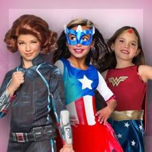 Superhéroes para niñas