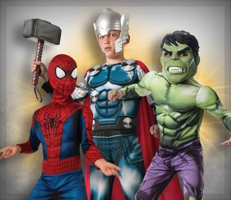 Superhéroes para niños