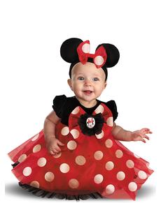 Disfraz de Minnie Mouse Deluxe para bebé