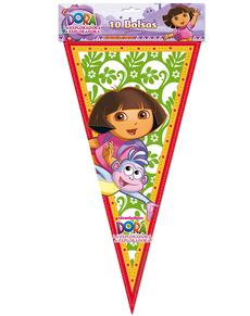 Set de bolsas de cono Dora la Exploradora