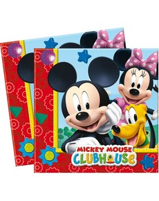Set de servilletas Mickey Clubhouse