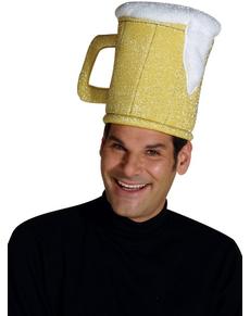 Sombrero de jarra de cerveza