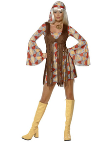 Disfraz de nena guay de los 60