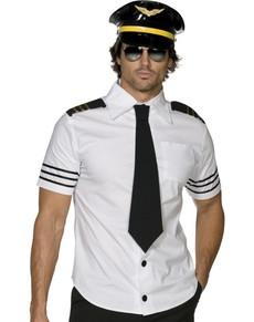 Disfraz de aviador Fever para hombre