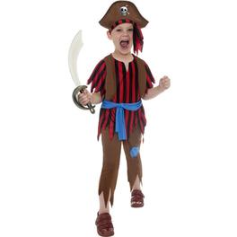 Disfraz de valiente corsario para niño
