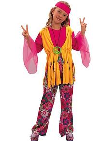 Disfraz de niña hippie