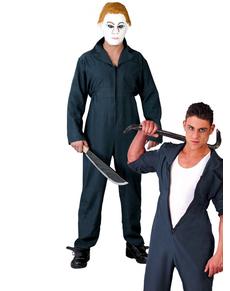 Disfraz 2x1 mecánico y asesino