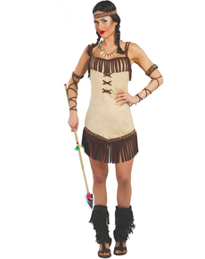 Disfraz de india seductora