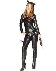 Disfraz de mujer gato