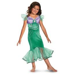 Disfraz de Ariel destello classic para niña