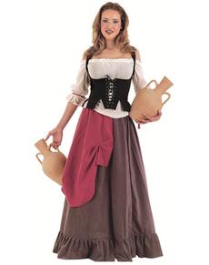 Disfraz de tabernera medieval Eliana