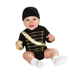 Disfraz de Michael Jackson Militar body para bebé