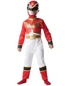 Disfraz de Power Ranger Megaforce Rojo para niño