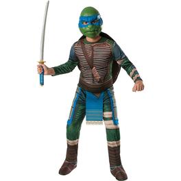 Disfraz de Leonardo Tortugas Ninja Movie para niño