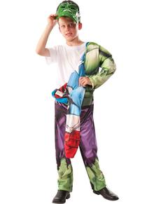 Disfraz de Hulk - Capitán América reversible para niño