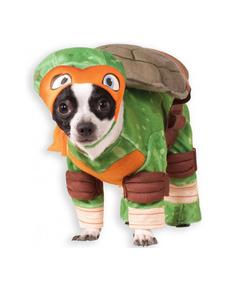 Disfraz de Michelangelo Tortugas ninja para perro