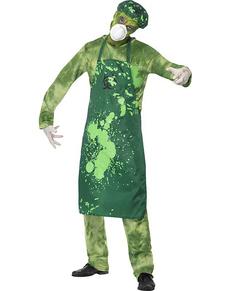 Disfraz de contaminado biológico para hombre