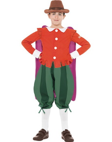 Disfraz de Guy Fawkes Horrible Histories para niño