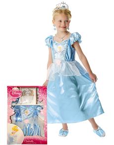 Disfraz de Cenicienta Classic para niña en caja