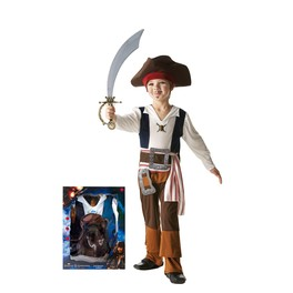 Disfraz de Jack Sparrow para niño en caja