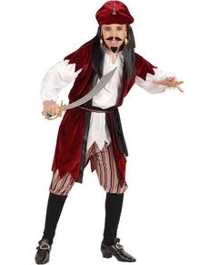 Disfraz de pirata Sparrow para niño