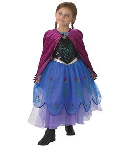 Disfraz de Anna Frozen Premium para niña