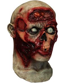 Máscara digital Pulsing Zombie Brains de látex