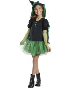 Disfraz de Bruja del oeste El Mago de Oz tutú para niña