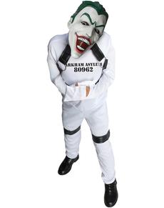 Disfraz de Joker de prisionero de Arkham para niño