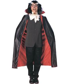 Capa de lujo con cuello estilo vampiro para hombre