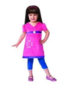 Disfraz de Dora y sus amigos para niña