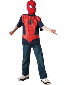 Kit disfraz de Ultimate Spiderman para niño