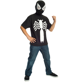 Kit disfraz de Spiderman black Ultimate Spiderman para niño