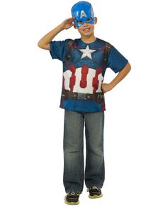 Kit disfraz Capitán América Vengadores: La Era de Ultrón para niño
