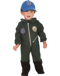 Disfraz de Top Gun para bebé