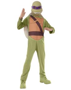 Disfraz Donatello Tortugas Ninja para niño en caja