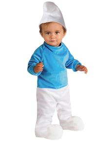 Disfraz de pitufo Los Pitufos Movie para bebé