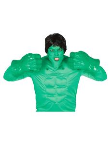 Puños verdes de mutante