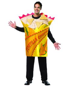 Disfraz de bolsa nachos para hombre