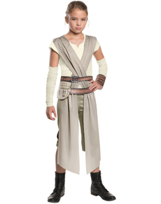 Disfraz de Rey Star Wars Episodio 7 classic para niña